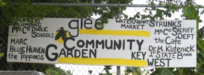 glee Community Garden Key West